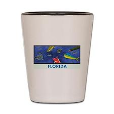 Florida Fish Tank Shot Glass