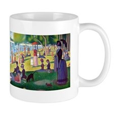 A Sunday Afternoon on La Grande Jatte b Small Mug