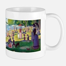 A Sunday Afternoon on La Grande Jatte b Small Small Mug