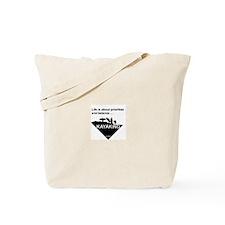 Priorities & Balance Tote Bag