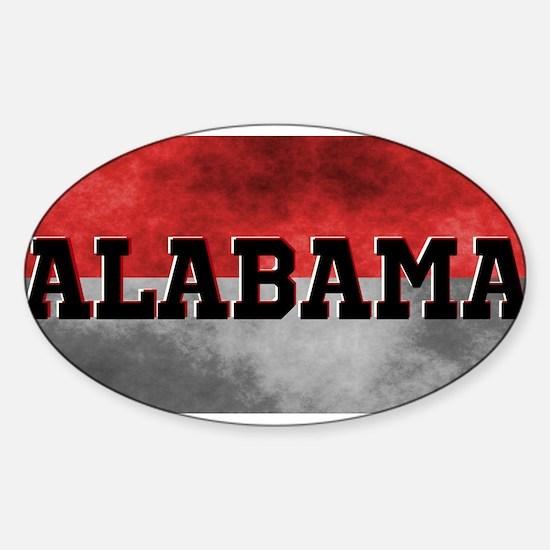 Alabama Sticker (Oval)