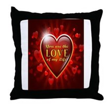 Unique Valentines day fiance Throw Pillow