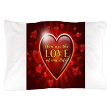 Unique Valentine's day for fiance Pillow Case