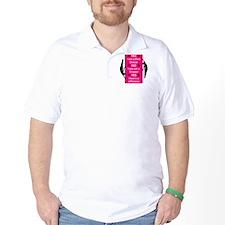 Yes I am a Pole Dancer Pink T-Shirt