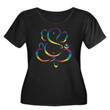 Psychedelic Ganesh Plus Size T-Shirt