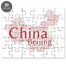 Chinese Cities Puzzle