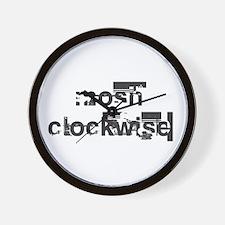 Mosh Clockwise Wall Clock