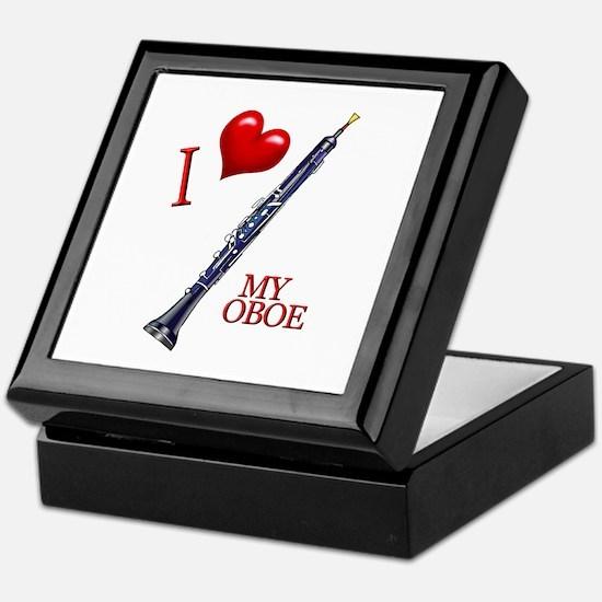 I Love My OBOE (2) Keepsake Box