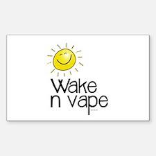 Wake -N- Vape Sticker E-Cig Skin/Wrap