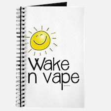 Wake -N- Vape Recipe Book/journal