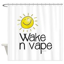 Wake -n- Vape Shower Curtain