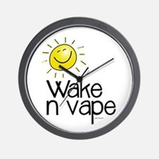 Wake -n- Vape Wall Clock