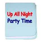 Up all night baby blanket