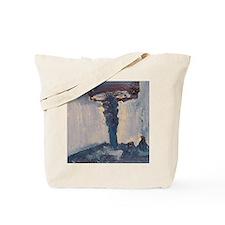 blue lamp Tote Bag