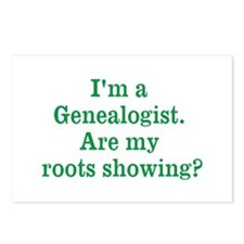 Im a Genealogist Postcards (Package of 8)