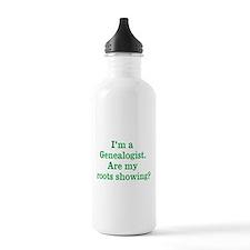 Im a Genealogist Water Bottle