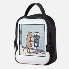 Mice Gumball machine Neoprene Lunch Bag