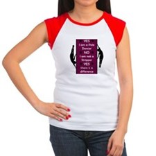 Yes I am a Pole Dancer Plum T-Shirt