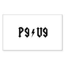 PG ~ VG Sticker E-Cig Skin/Wrap