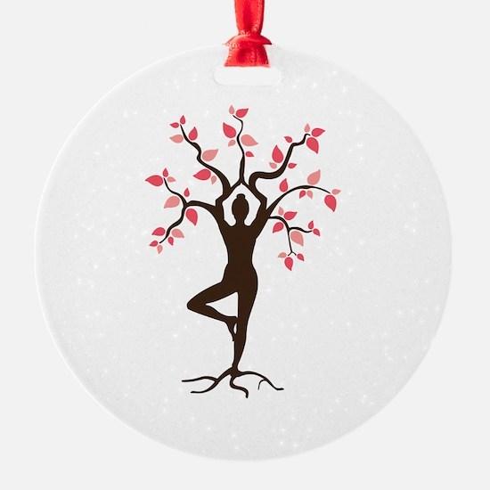 Yoga Christmas Ornament  CafePress