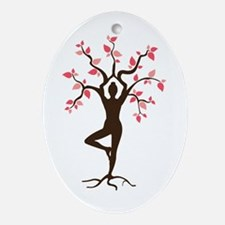 Yoga Ornament (Oval)
