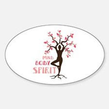 MIND BODY SPIRIT Decal