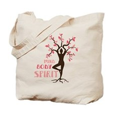 MIND BODY SPIRIT Tote Bag