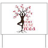 Yoga Yard Signs