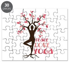 PEACE LOVE YOGA Puzzle