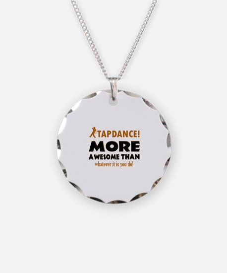 Awesome Tapdance designs Necklace