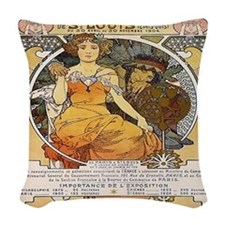 St. Louis Woven Throw Pillow