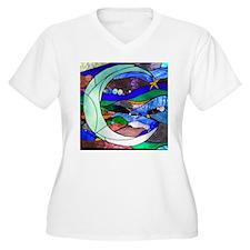 Crescent Moon Plus Size T-Shirt