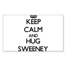 Keep calm and Hug Sweeney Decal