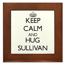 Keep calm and Hug Sullivan Framed Tile