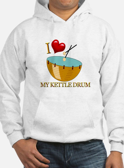 I Love My KETTLE DRUM Jumper Hoody