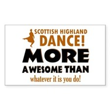 Scottish highland dance is awesome Decal