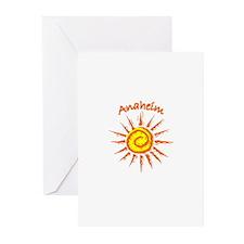 Anaheim, California Greeting Cards (Pk of 10)