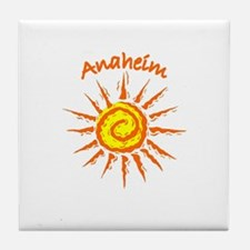 Anaheim, California Tile Coaster