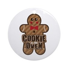 Cookie in the Oven™ Ornament (Round)