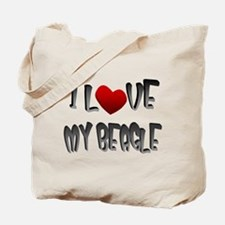 Beagle dog lover Tote Bag