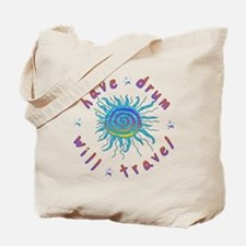 Have Drum Will Travel Tote Bag