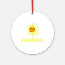 Anaheim, California Ornament (Round)