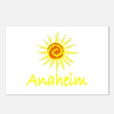 Anaheim, California Postcards (Package of 8)