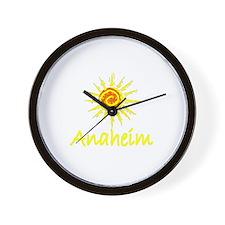 Anaheim, California Wall Clock