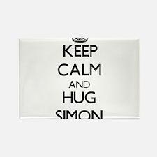 Keep calm and Hug Simon Magnets
