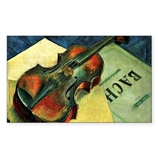 Violin, 1921 painting by Kuzma Decal