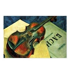 Violin, 1921 painting by  Postcards (Package of 8)