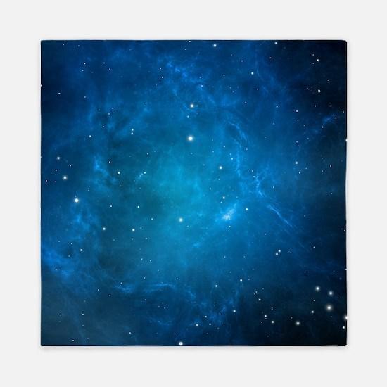 Blue Space Queen Duvet