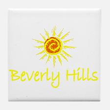 Beverly Hills, California Tile Coaster