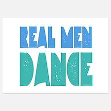 Real Men Dance Invitations